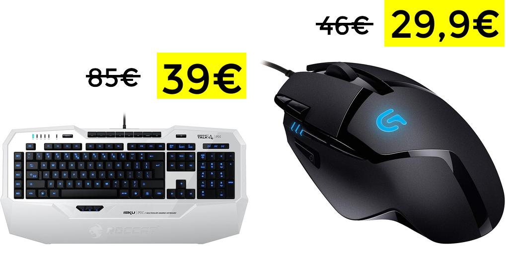 Roccat Isku teclado Gaming solo 39.9€