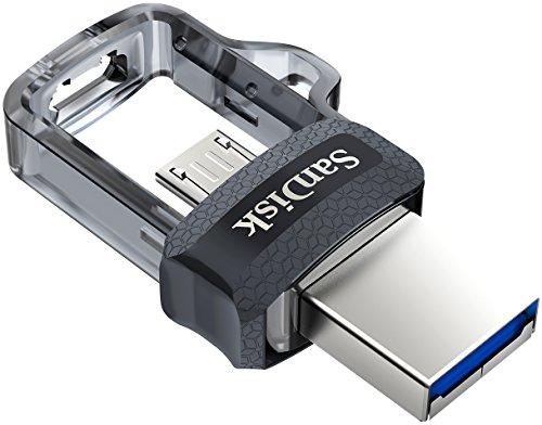 USB SanDisk Ultra Dual 256 GB 3.0 150 MB/s