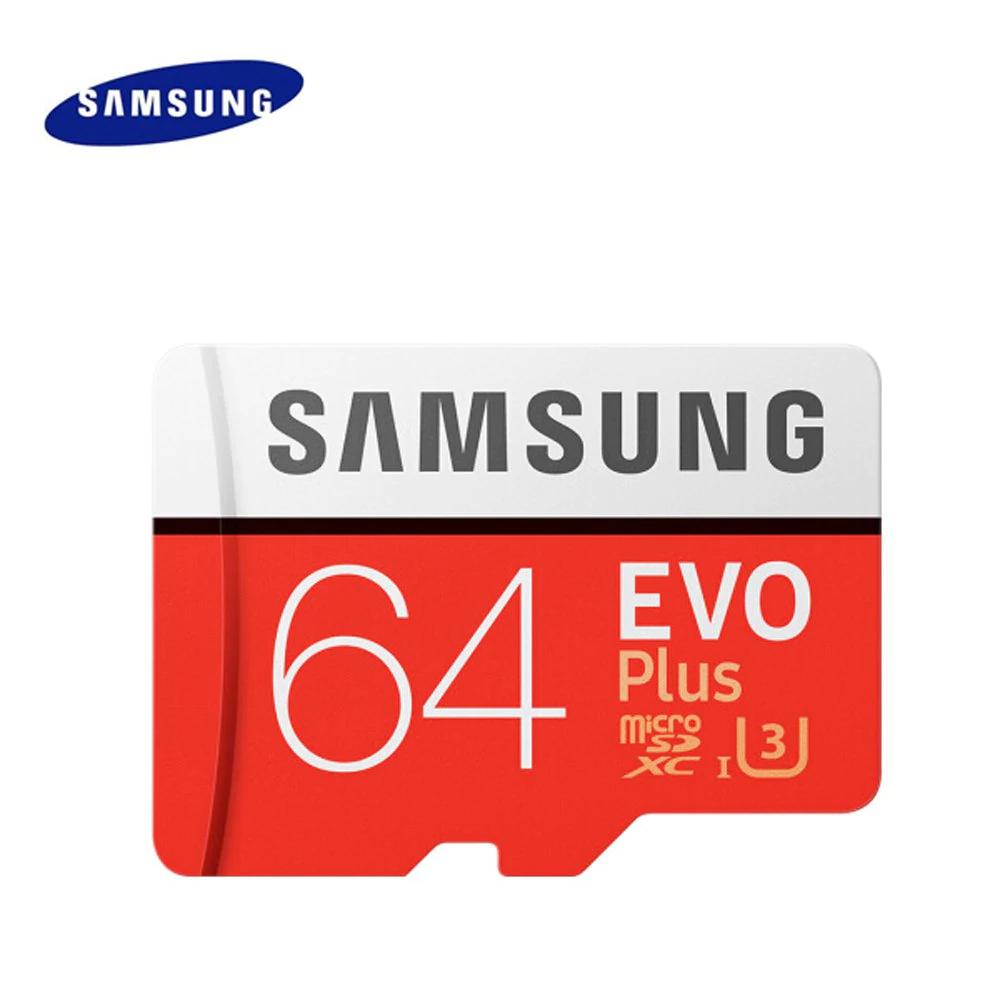 Original Samsung UHS-3 Tarjeta de memoria Micro SDXC de 64 GB Clase 10 100MB / s dispositivo de almacenamiento