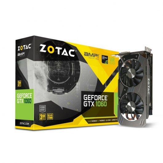 Zotac GeForce GTX 1060 AMP! Edition 3GB GDDR5