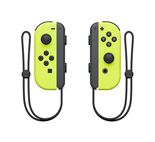 Nintendo - Dos Mandos Joy Color Amarillo Neón (Nintendo Switch)