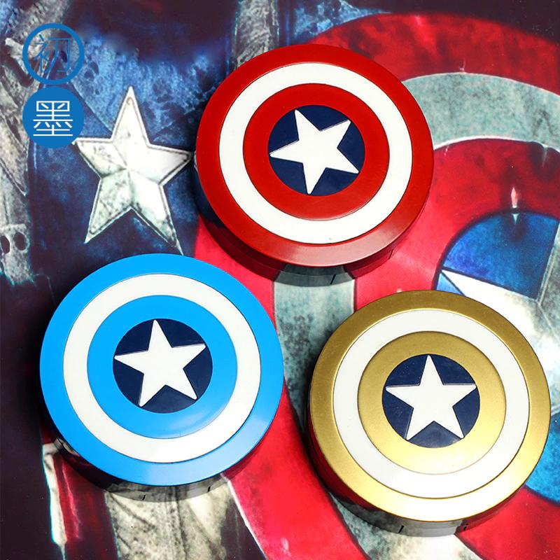 Caja-Estuche Lentillas Capitán América