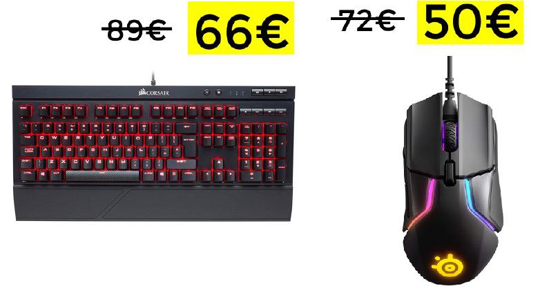Teclado Corsair K68 solo 66€