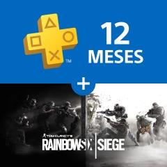 Consigue Rainbow Six Siege de regalo con tu suscripción de 12 meses a PlayStation®Plus
