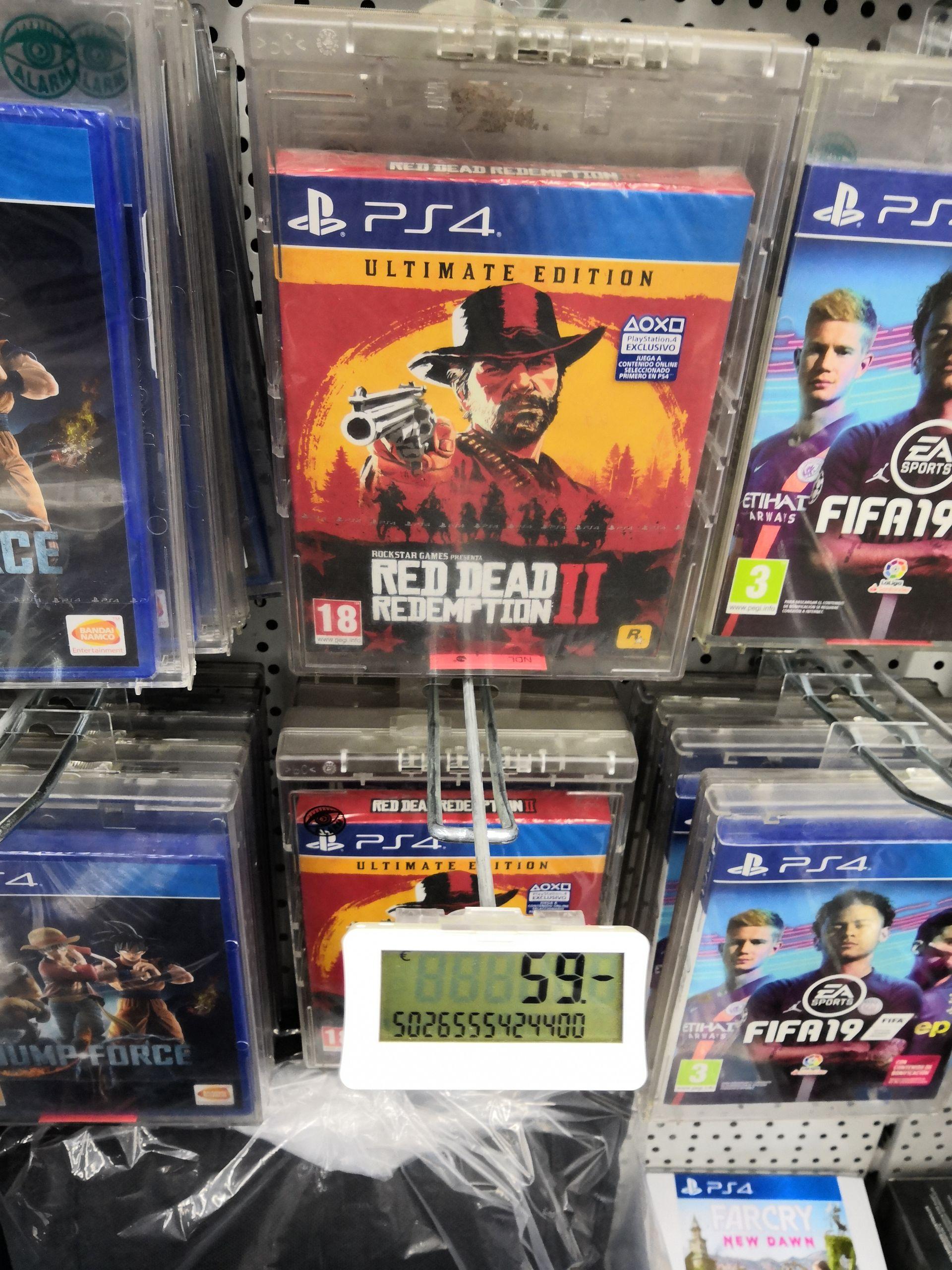 Red dead redemption 2 Ultimate edition Mediamarkt La Maquinista