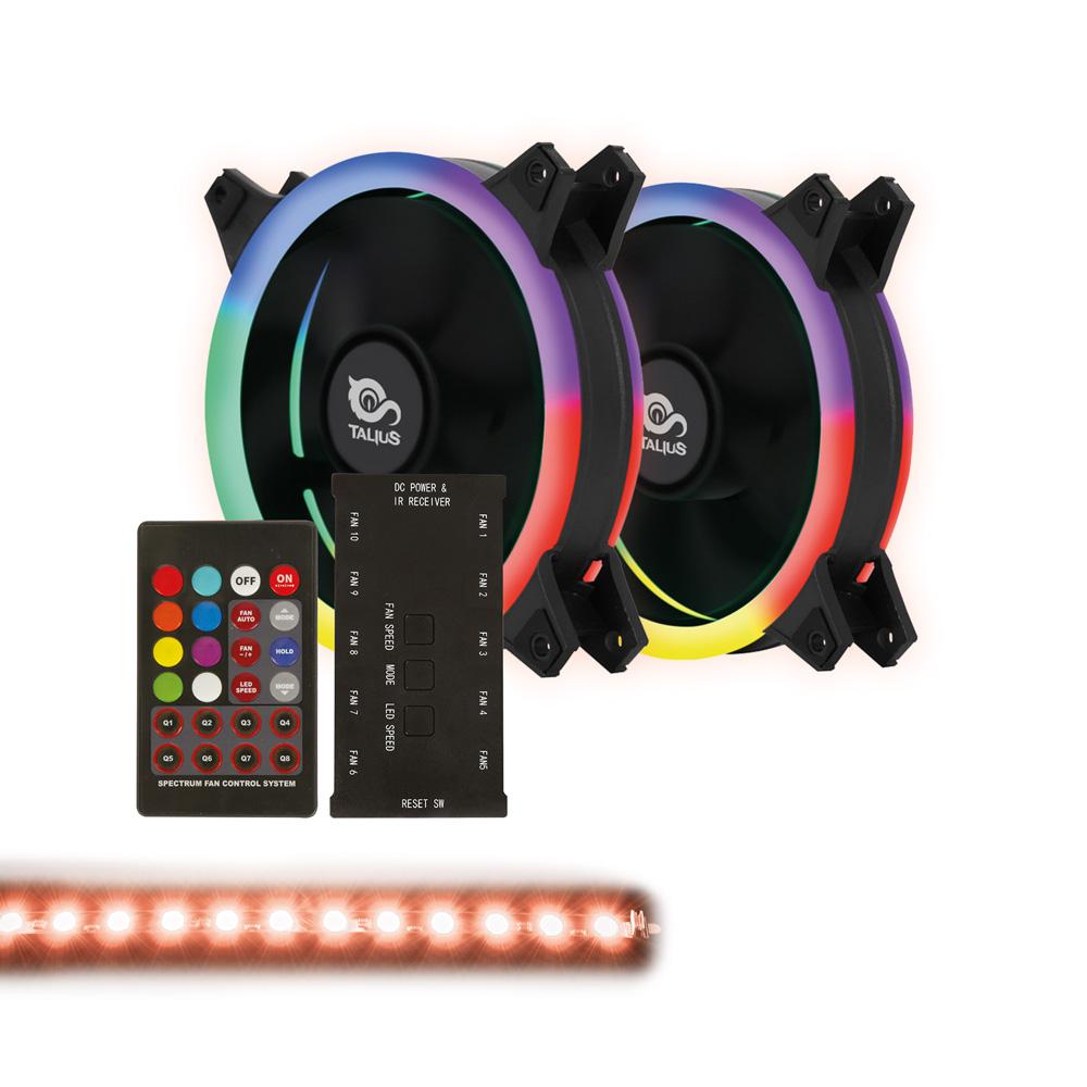 Talius Siroko Spectrum RGB Twin Pack + Tira LED RGB - Reacondicionado
