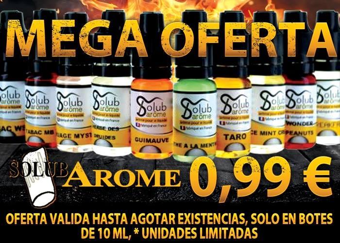 Oferta en productos solub arome