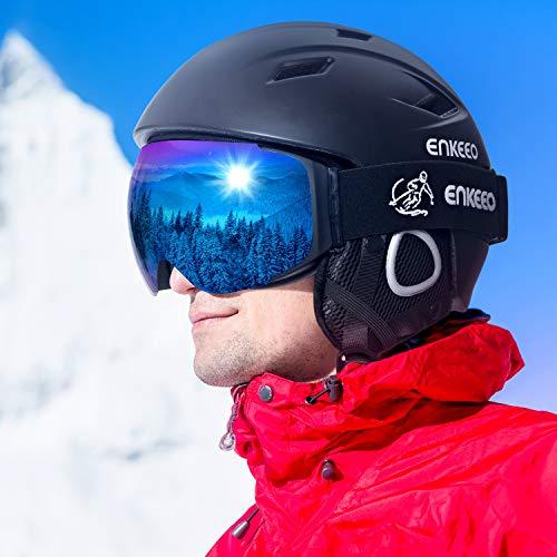 Casco de Esquí Unisex Ajustable, 14 Salidas de Ventilación, por menos de 10 euretes