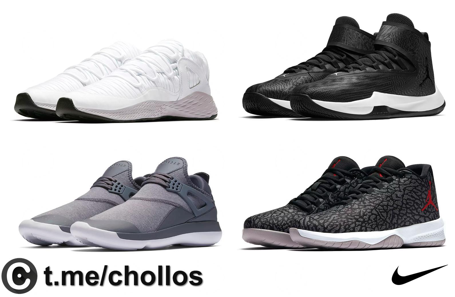Modelos de NIKE Jordan desde 44€