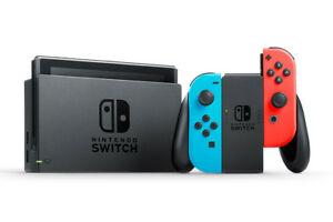 Consola NINTENDO Switch Azul/Rojo