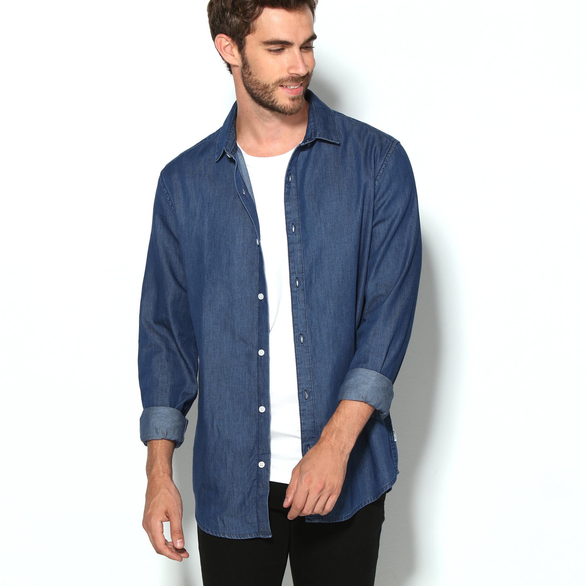 Camisa vaquera de marca ONLY & SONS para hombre