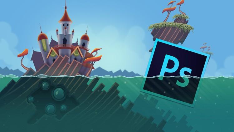 Aprende Professional 2D Game Asset Graphic Design in Photoshop