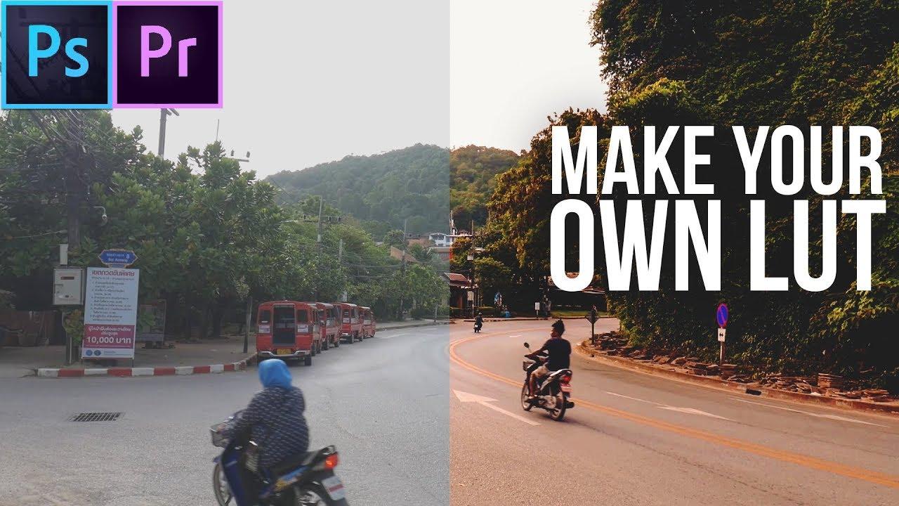 Como crear LUTs en Photoshop - para imágenes y vídeos! (Inglés, 2:50h)