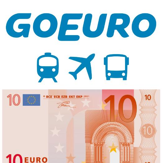 Descuento Omio Goeuro - 10€ GRATIS para viajar