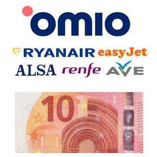 Descuento Omio Goeuro - 5€ GRATIS para viajar