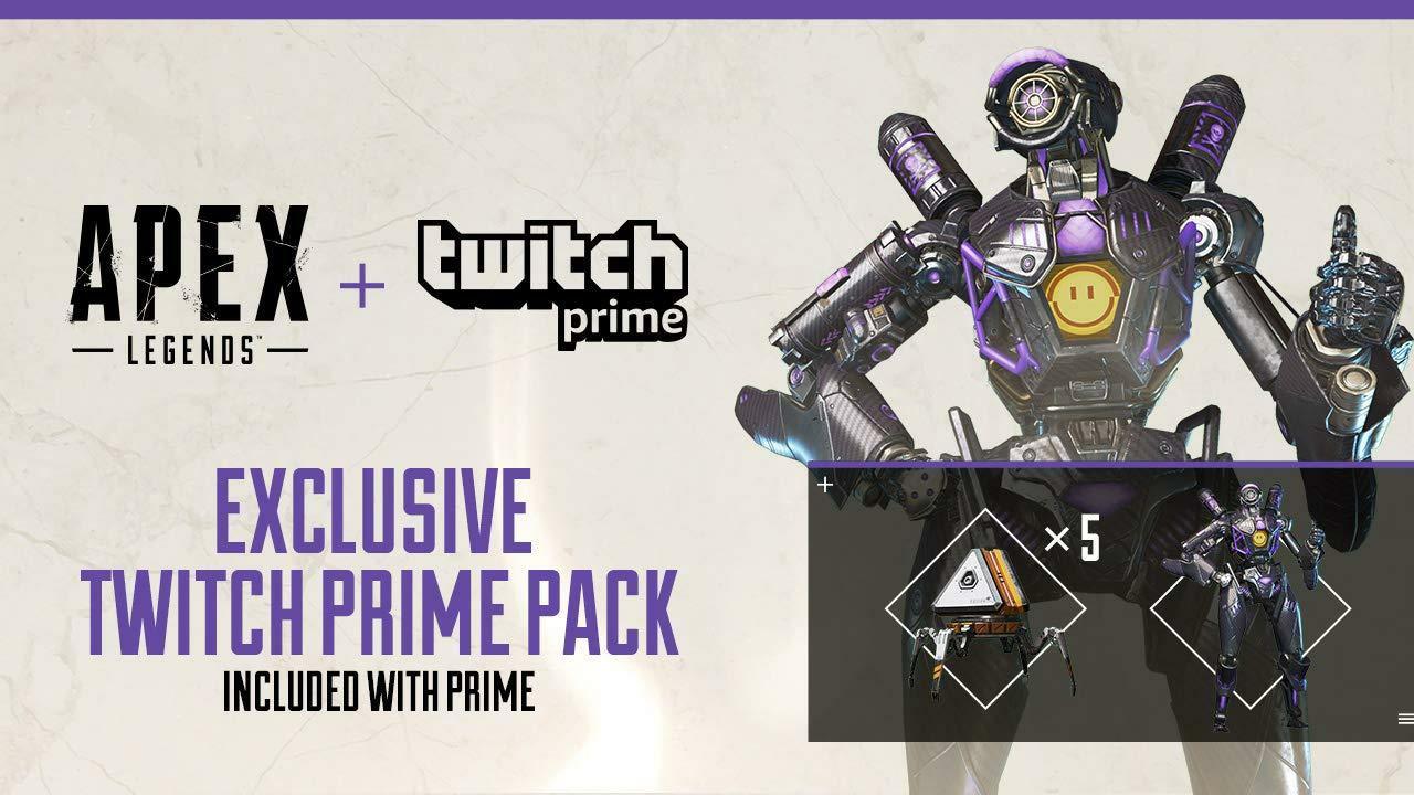 Apex regalos gratis con Twitch Prime (PC, PS4 y Xbox One)