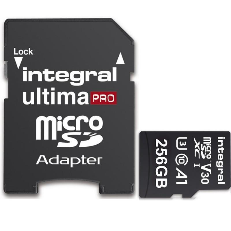 MicroSD 256Gb Integral clase 10 solo 34.4€