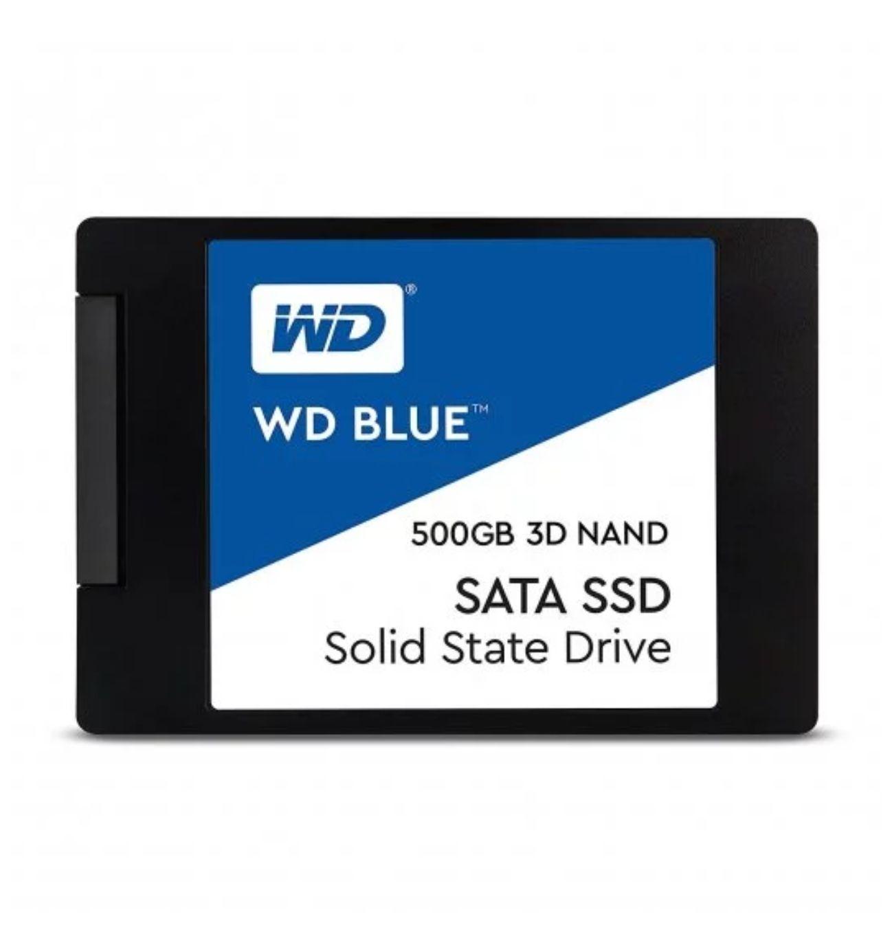 SSD 500GB WD Blue 3D Nand SATA