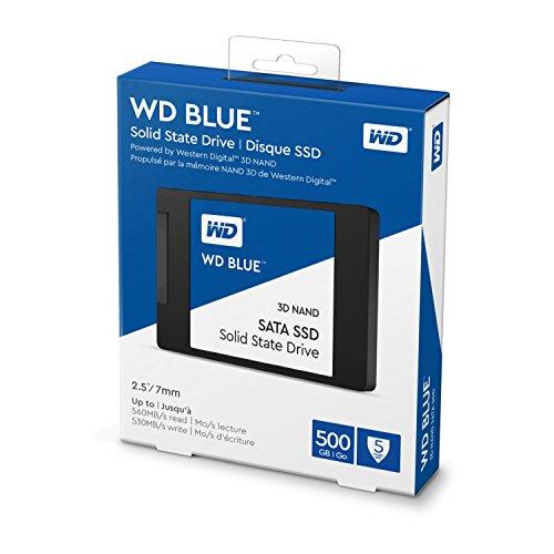 Minimo Amazon SSD WD Blue 500GB