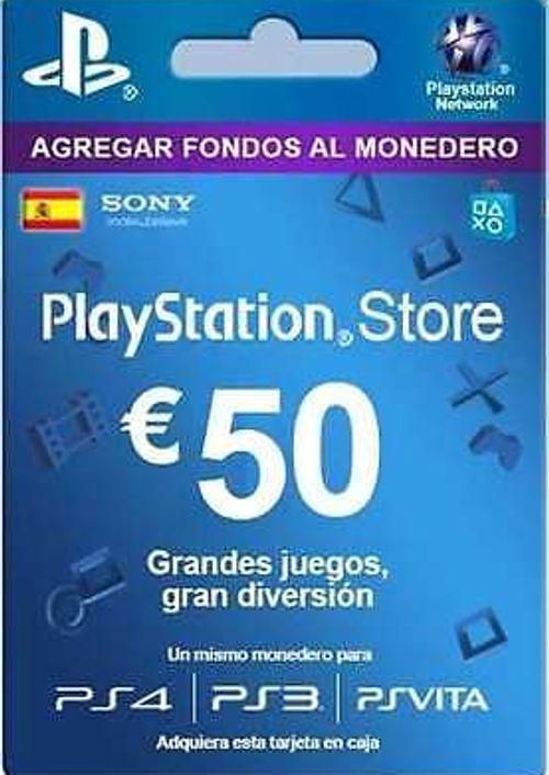 Tarjeta 50€ PSN por sólo 38,83€  (Ahórrate 12.93€)