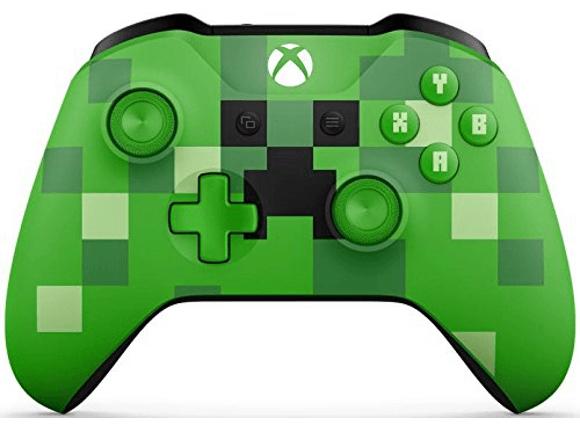 Mando inalámbrico - Microsoft Xbox Minecraft Creeper, Edición Limitada
