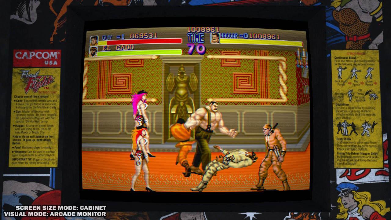 Final Fight clásico en HD+Magic Sword Xbox One/Xbox 360