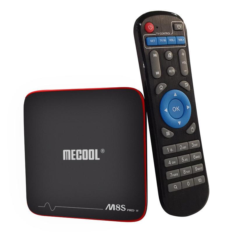 TV ROM Mecool M8S PRO W S905W 2GB RAM 16GB - UE