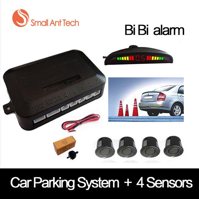 4 sensores LED para aparcamiento de coche