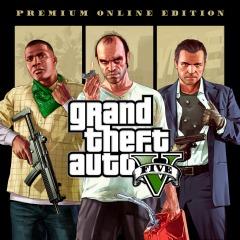 Grand Theft Auto V: Premium Online Edition PS4 (PSN) a solo 14.99