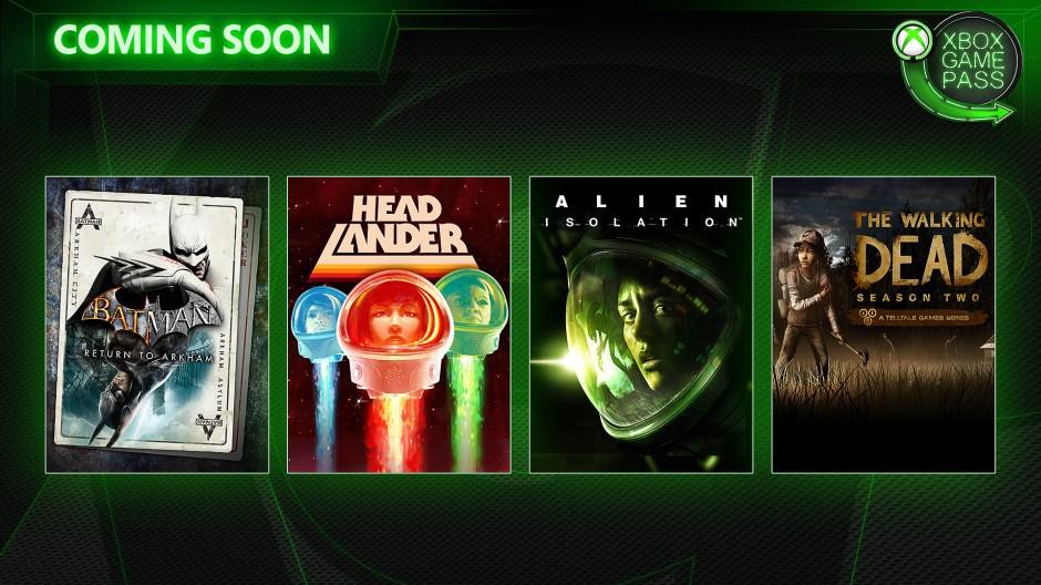 Xbox Game Pass: Llegan gratis Alien: Isolation, Batman Arkham y otros