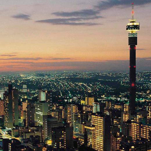 Vuelos ida y vuelta a Johannesburgo por 309€