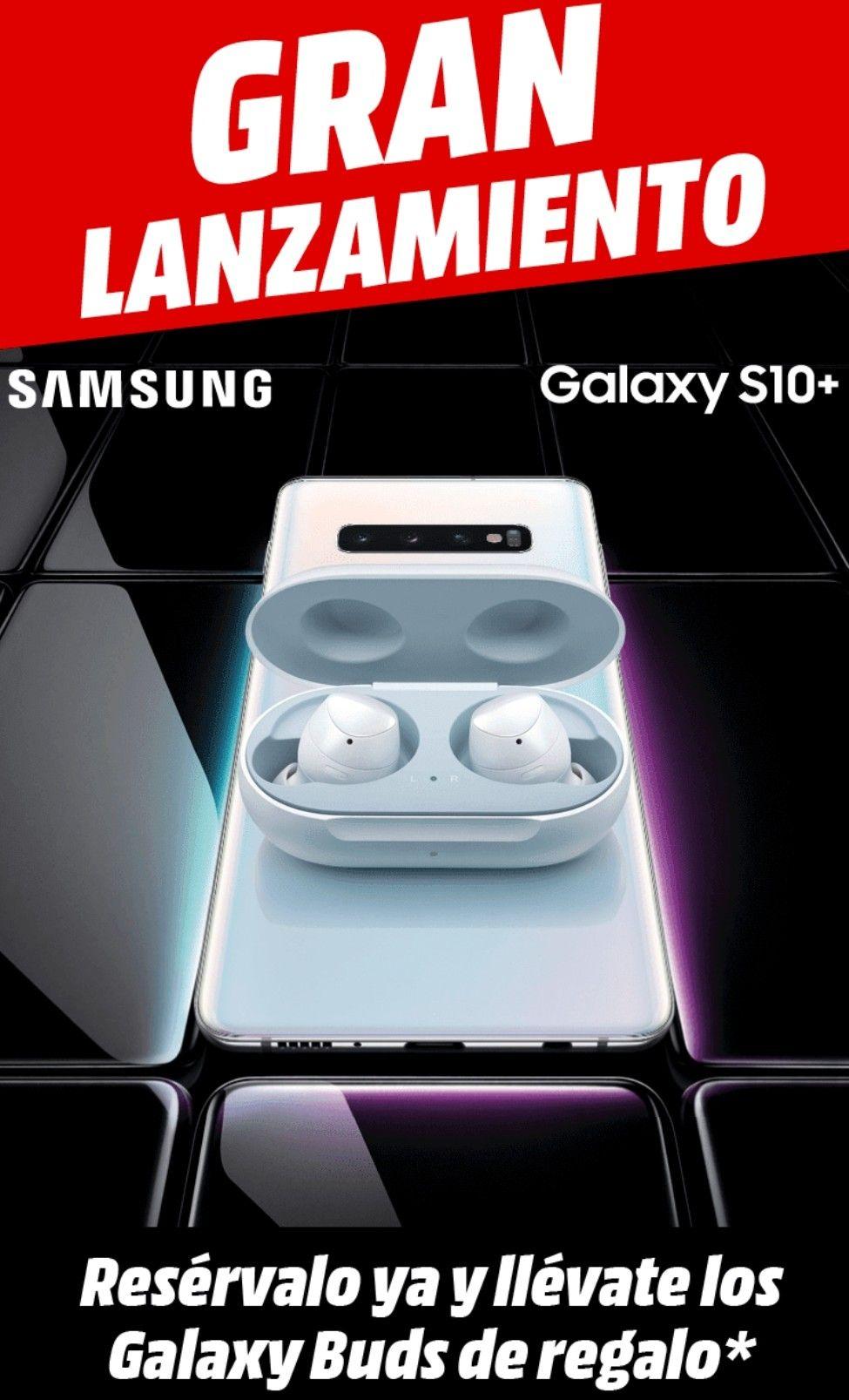 Galaxy Buds de regalo al reservar el S10 o S10+