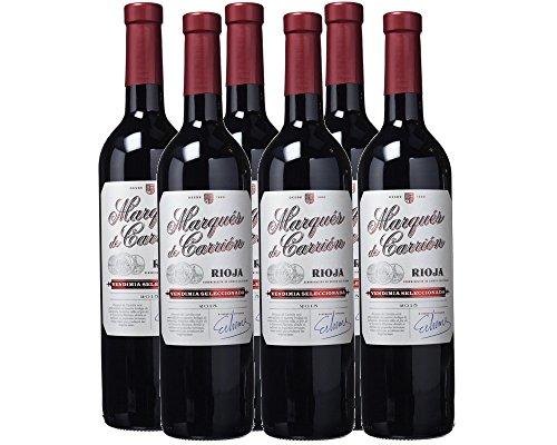 6 botellas Marqués de Carrión Selección D.O Rioja Vino tinto