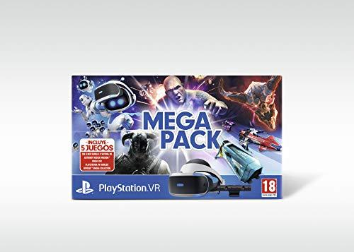 Pack de VR Playstation + 5 juegos