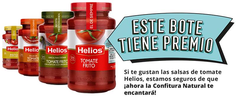 PROMOCIÓN TOMATE HELIOS CON PREMIO (Pack de 2 mini confituras)