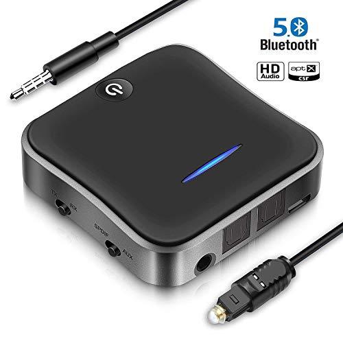Receptor Transmisor Bluetooth 5.0 de calidad