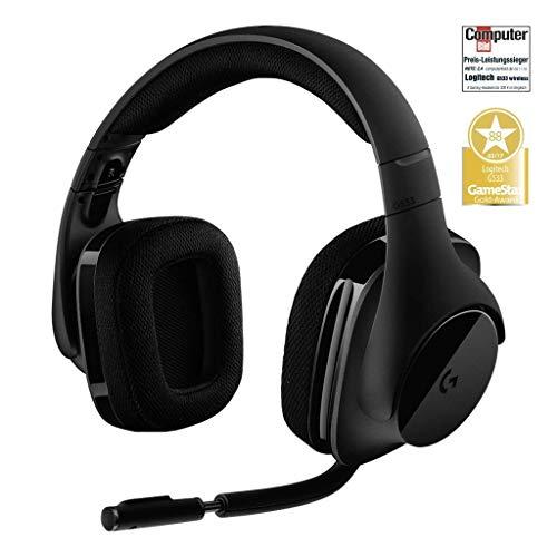 Logitech G533 Gaming Headset - Auriculares Gaming