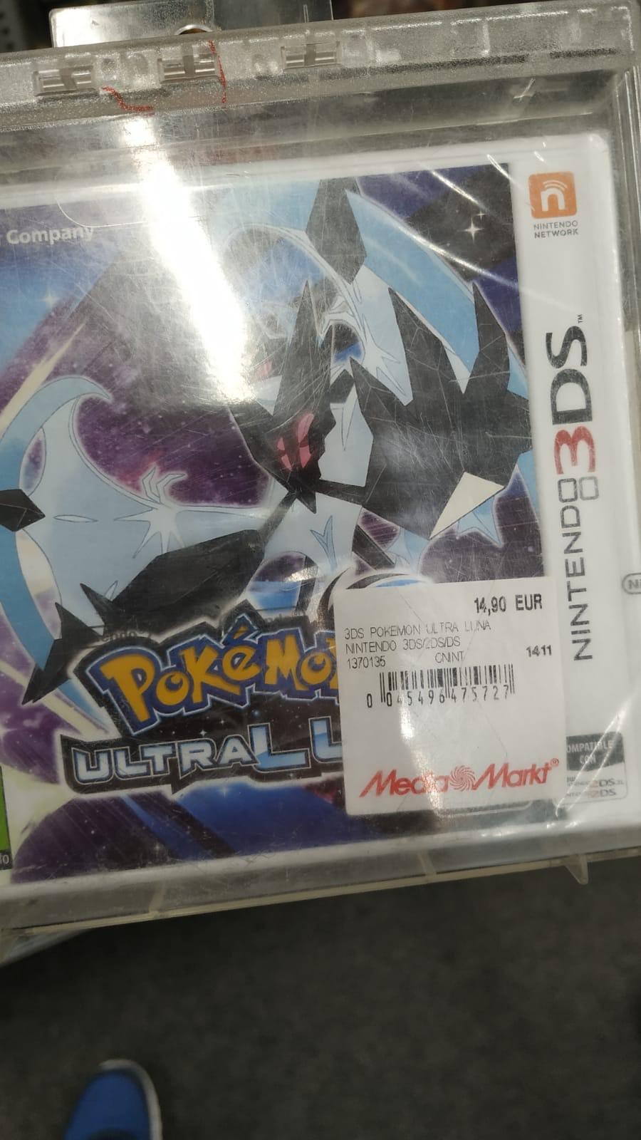 Pokémon Ultrasol y Ultraluna para Nintendo 3DS