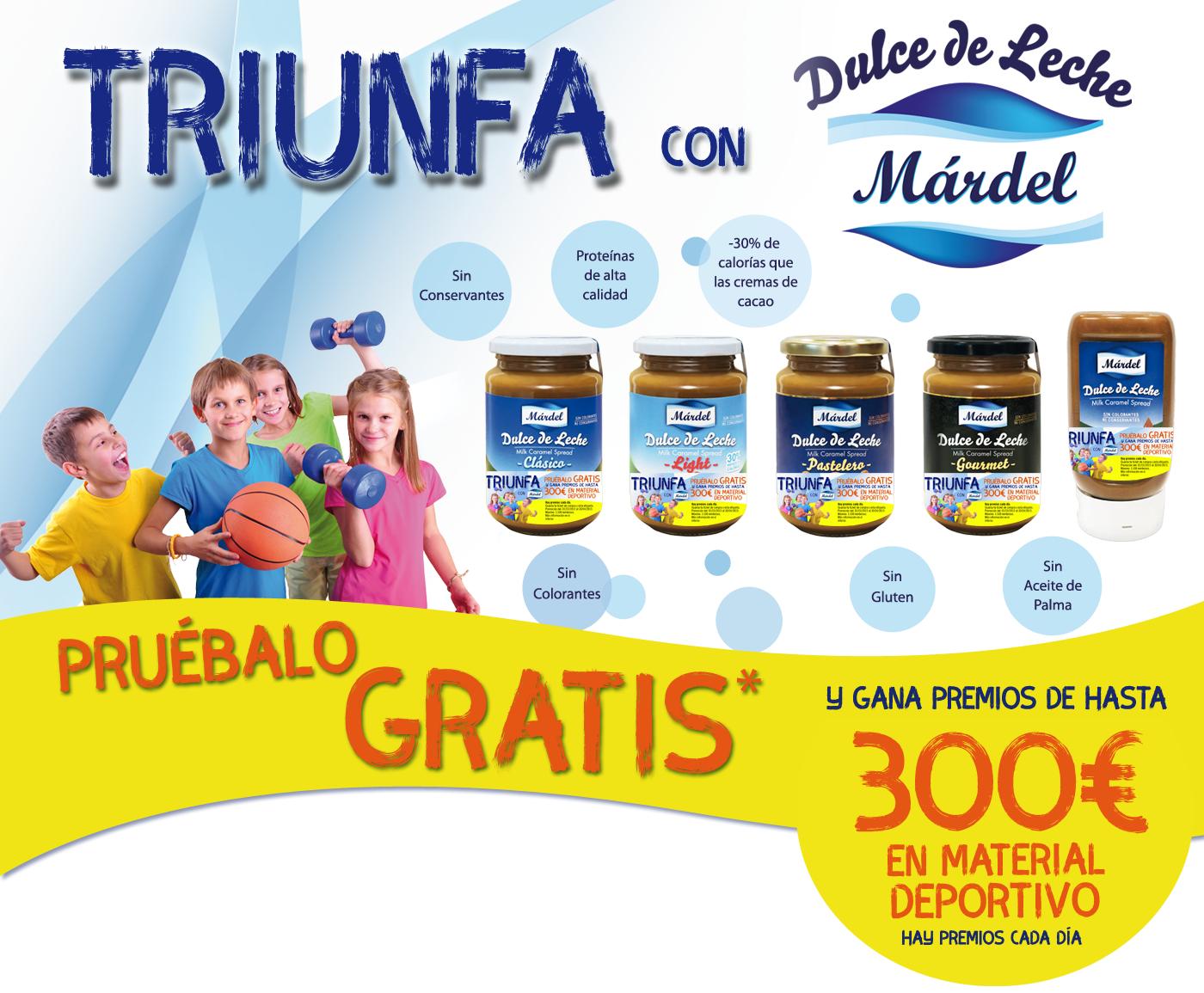 Chollidulce de  leche Gratis con Mardel (reembolso)