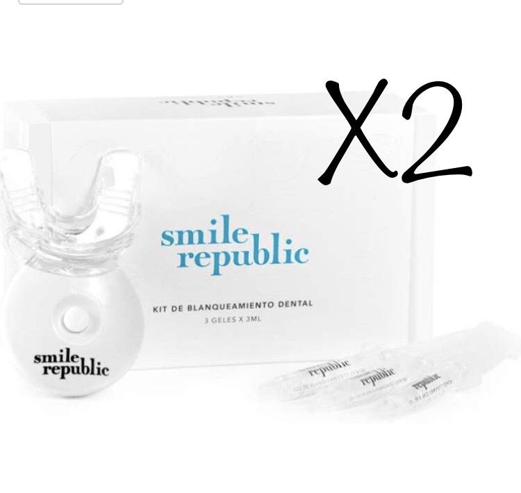 OFERTON !! 2x1 + DESCUENTAZO. Blanqueador dental Smile Republic