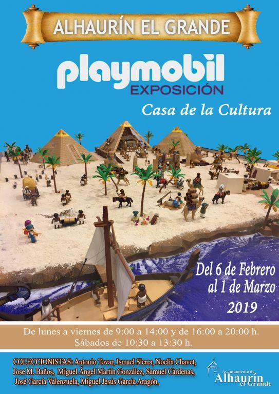Exposición Playmobil Alhaurín el Grande Malaga