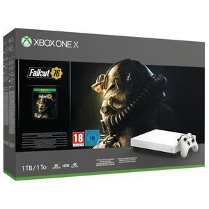 Xbox One X - 1 TB, Color Blanco + Fallout