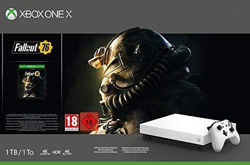 Xbox One X - Consola 1 TB, Color Blanco + Fallout