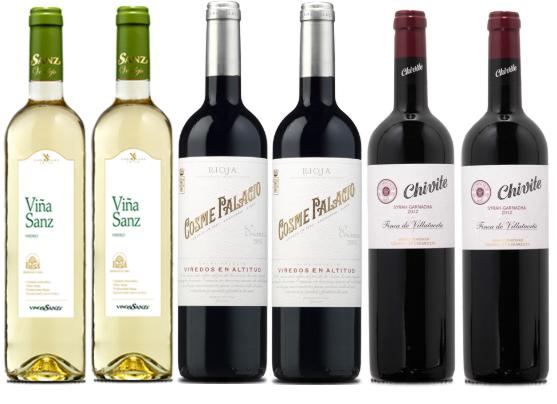 Pack 6 Vinos Panorama Vinícola