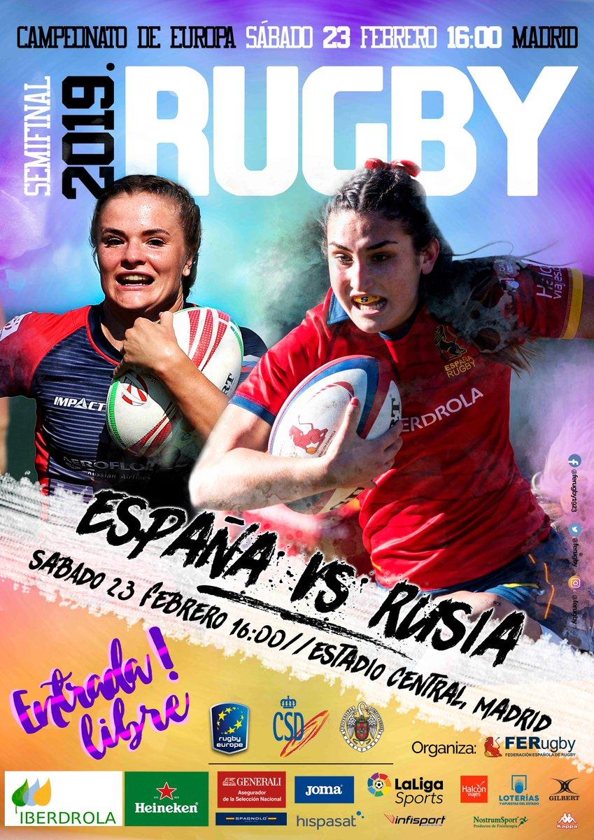 Entrada Gratuita España Vs Rusia Rugby Femenino en Madrid