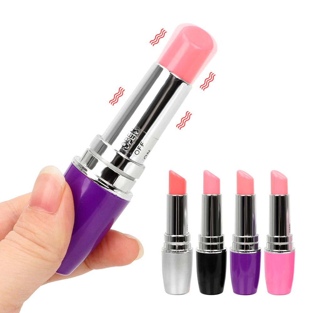 lápiz labial Mini Bala para las mujeres vibrador