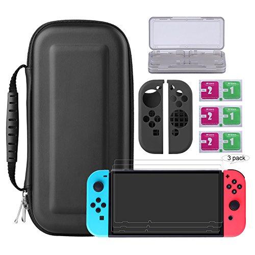 Bestico Kit Protección para Nintendo Switch,
