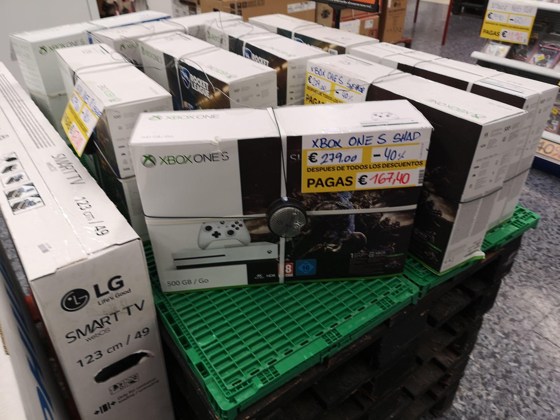Consolas Xbox S a buen precio en outlet de Carrefour