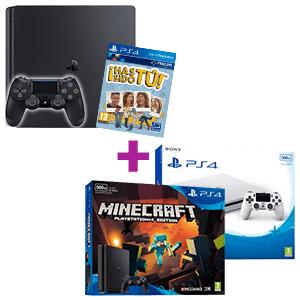 Pack 2 PS4 con Juegos