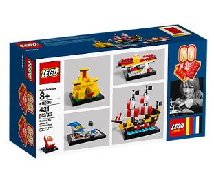 LEGO: Set 60 Aniversario gratis por compras superiores a 125€